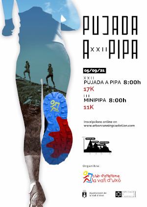 Pujada a Pipa y Mini Pipa 2021